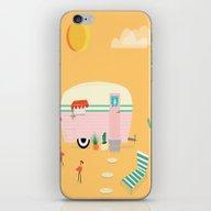 Happy Trailer iPhone & iPod Skin