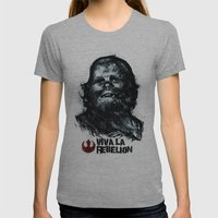 CHE-wbacca Womens Fitted Tee Athletic Grey SMALL