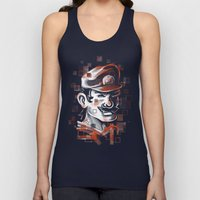Depixelization M Unisex Tank Top
