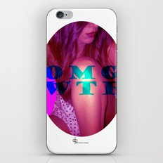 OMG WTF iPhone & iPod Skin