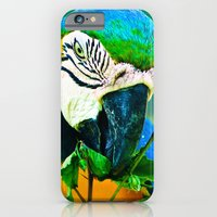 iPhone & iPod Case featuring Parrot by Sonya Lietta