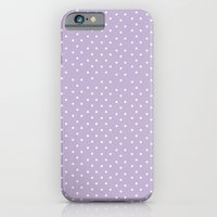 Lavender Dots iPhone 6 Slim Case