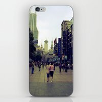 Walking Shanghai iPhone & iPod Skin