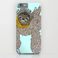 iPhone & iPod Case featuring Impulsive Sloth by Brittany Metz