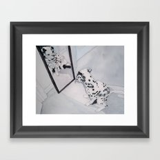 Roxie the Dalmatian 1 Framed Art Print