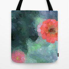 flower mosaic  Tote Bag