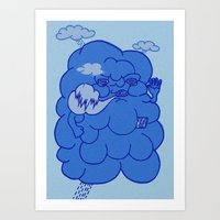 Bad Air Art Print