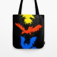 Legendary Bird Splatter Tote Bag
