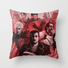 Dragon Age 2 Throw Pillow