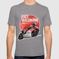 Ralf Waldmann - 1997 Jerez Mens Fitted Tee Tri-Grey SMALL