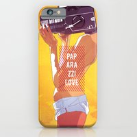 iPhone & iPod Case featuring Paparazzi Love by Sami Shah