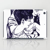 Lady In Waiting.  iPad Case