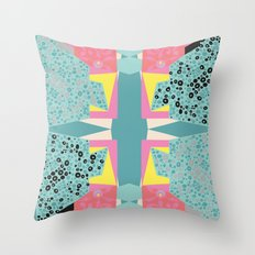 Paper Layer Throw Pillow