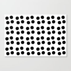 Copijn Black & White Dots Canvas Print