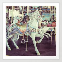 Horse of a different color! Art Print