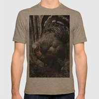 Tom Feiler Turkey Mens Fitted Tee Tri-Coffee SMALL