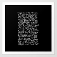 Art Print featuring I Had No Room by Maioriz Home