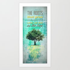 Roots of the Tree Art Print