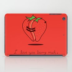 How much do I love you? iPad Case