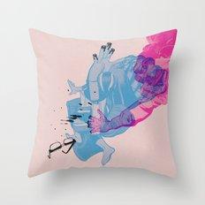Nerd /// Fight Throw Pillow