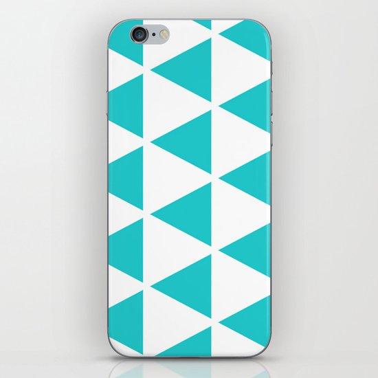 Sleyer Blue on White Pattern iPhone & iPod Skin