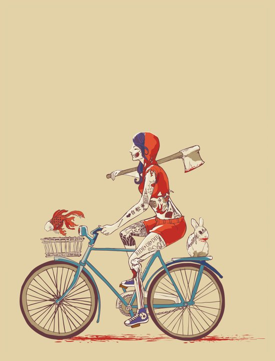 Death Ride Art Print