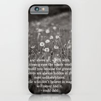 iPhone & iPod Case featuring roald dahl's magic by lissalaine