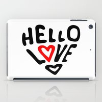Hello Love iPad Case
