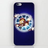 lil' Iron Dude iPhone & iPod Skin
