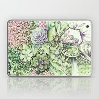 Flowerbed Laptop & iPad Skin