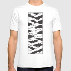 the sky is the limit Mens Fitted Tee SMALL White