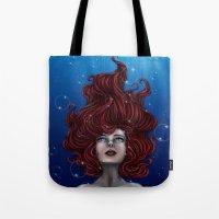 Tears Of A Mermaid Tote Bag