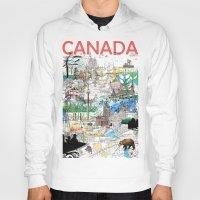 Canada (portrait Version… Hoody