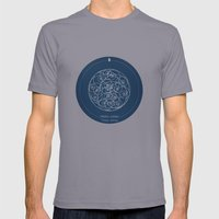 Doctor Who: Wibbly Wobbly Mens Fitted Tee Slate SMALL