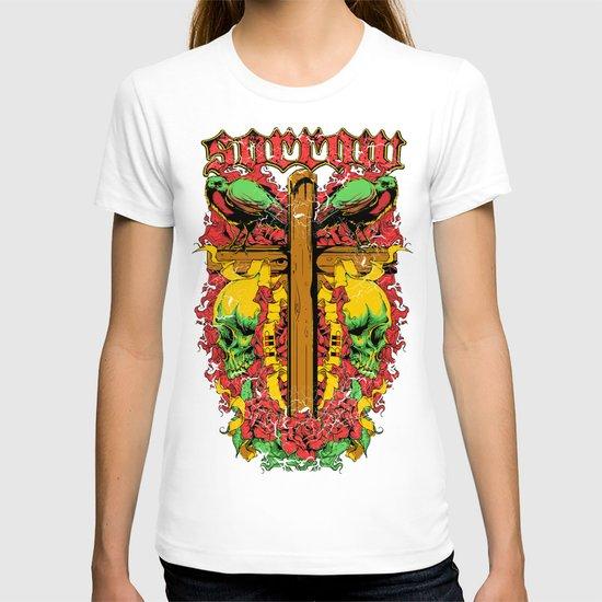 Sorrow cross T-shirt