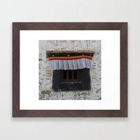 Potala Window Framed Art Print