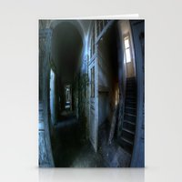 Horror Hallway Stationery Cards