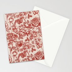 Toile de jouy (Roses) Stationery Cards