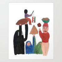 Kibinho. Art Print