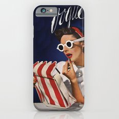 Woman putting on lipstick Slim Case iPhone 6s