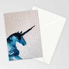 Blue Unicorn Stationery Cards
