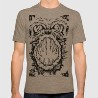 Anger Mens Fitted Tee Tri-Coffee SMALL