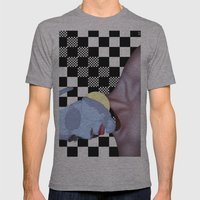 Masked Beauty  Mens Fitted Tee Athletic Grey SMALL