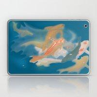 Koi {blue} Laptop & iPad Skin