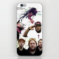 HUMBLE BEAST X JESUS X C… iPhone & iPod Skin