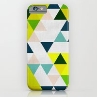 iPhone & iPod Case featuring Triangles 1 by Priscila Peress