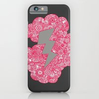 iPhone & iPod Case featuring Thunder Cloud by lush tart