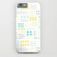 Abstract Watercolor Shap… iPhone 6 Slim Case