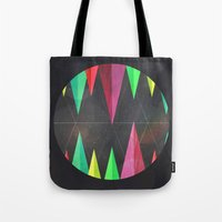 Wood Teeth Tote Bag