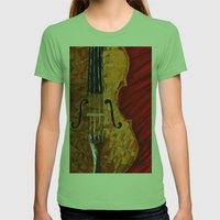 Classic Womens Fitted Tee Grass SMALL